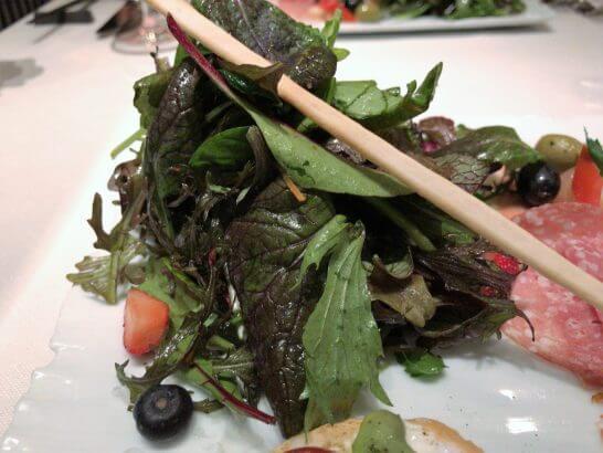 ジャッジョーロ銀座 (ジャッジョーロ名物15種類のハーブサラダ)