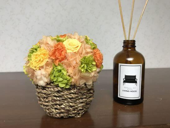 ニコライ・バーグマン・フラワーズ&デザインの花を飾ったところ