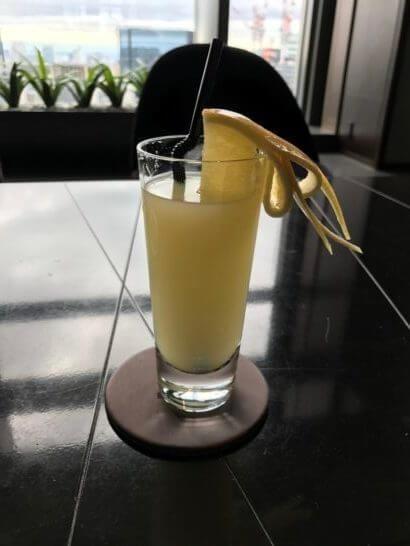 マンダリンオリエンタル東京のグレープフルーツジュース
