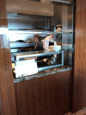 朝食のエッグステーション(ザ・プリンスギャラリー 東京紀尾井町のクラブラウンジ)