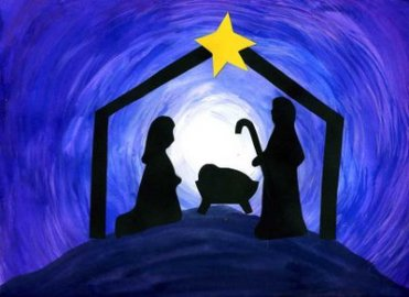 Image via http://www.thatartistwoman.org/2008/12/how-to-make-nativity-silhouette-art.html