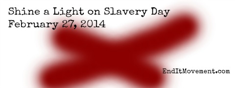 Shine a Light on Slavery Day - End It Movement