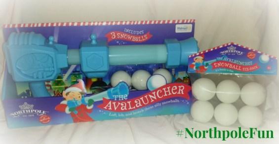 Avalauncher #NorthpoleFun