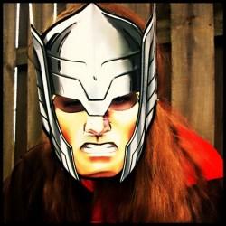 Aly as Thor #AvengersUnite
