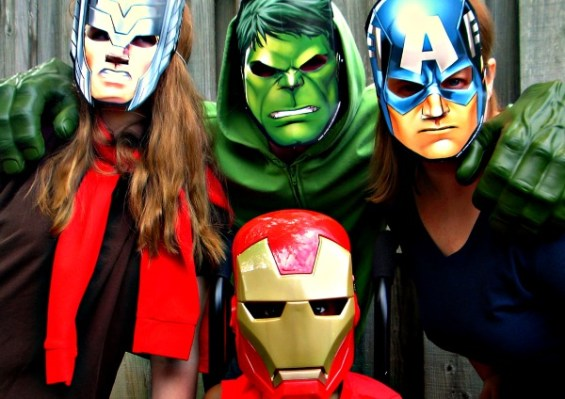 My family the Avengers