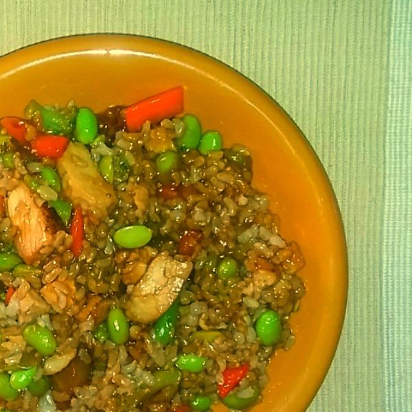 STOUFFERS FIT KITCHEN Teriyaki Chicken #TasteFitKitchen [AD]
