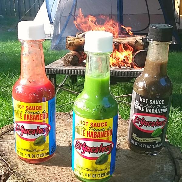El Yucateco sauces outside [AD] #KingOfFlavor