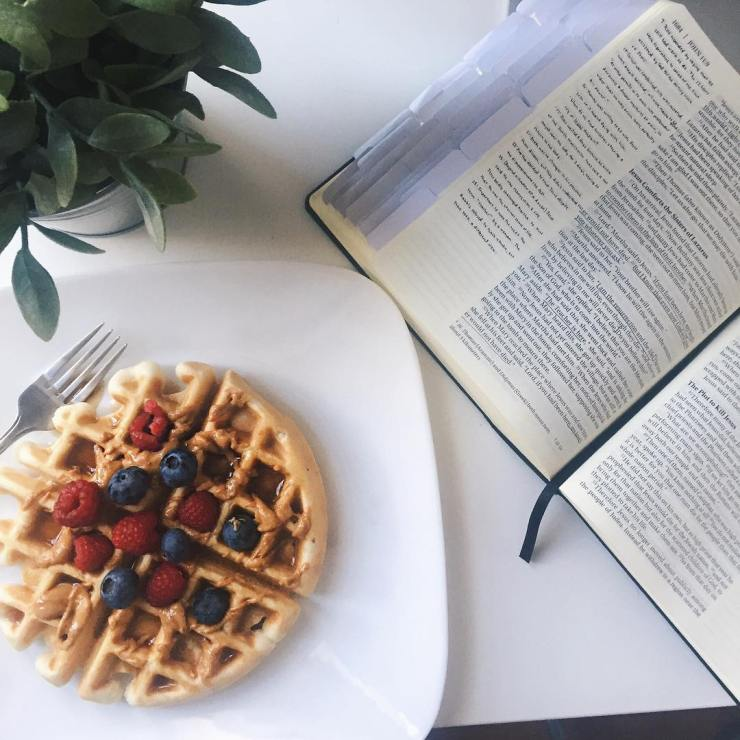 Waffles amp the Word Happy Sunday!