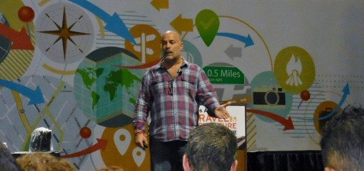 Ralph Velasco speaking about travel photography at last month's Los Angeles Travel and Adventure Show