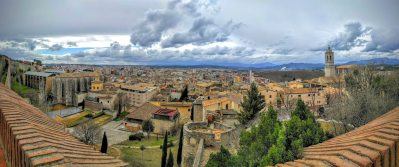 Girona from the battlements
