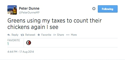 Twitter___PeterDunneMP__Greens_using_my_taxes_to_count____