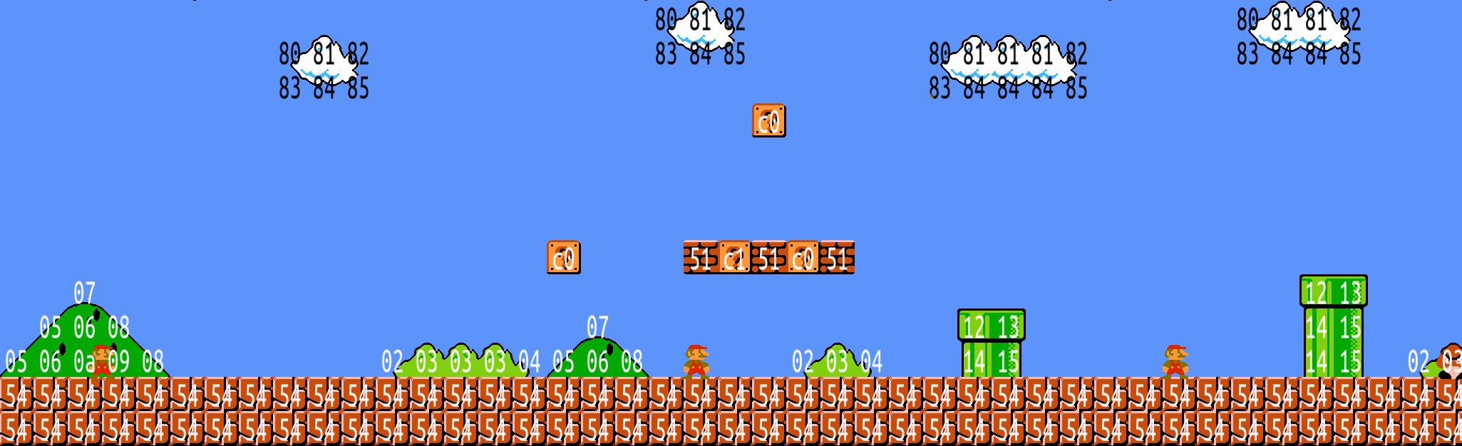 Super Mario 3d World Wallpaper Extracting Super Mario Bros Levels With Python Matt S