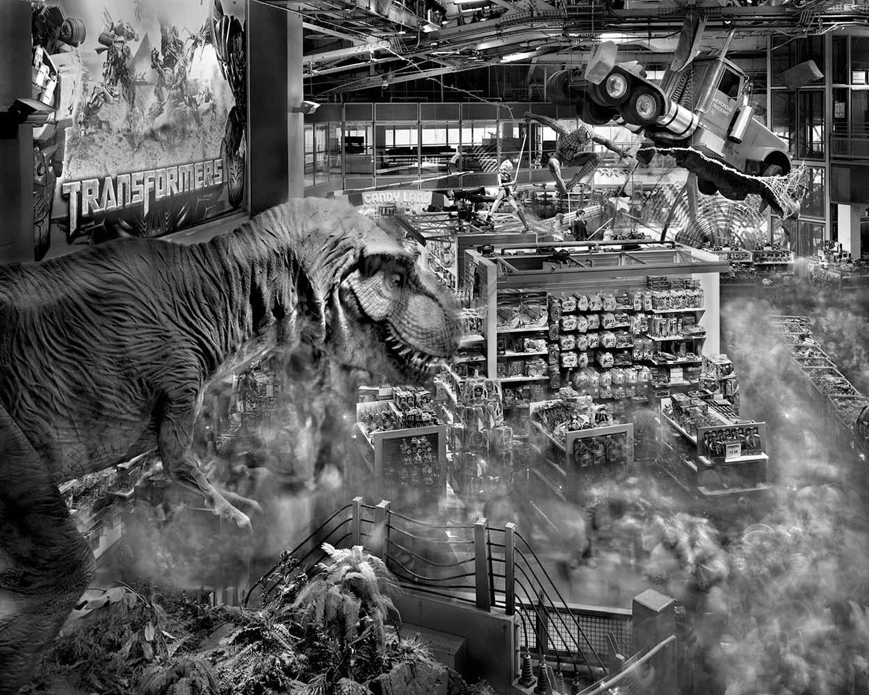 Dinosaur Toys R Us Times Square