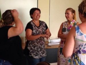 Jornada Pedagógica 2015 - Gamificação 28/01/2015 - Grupo 1 se divertindo com a atividade proposta