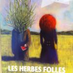 Blutch's poster for Alain Resnais very odd film, Les Herbes Folles