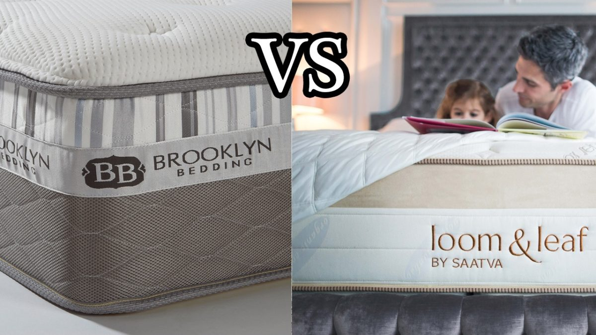 Helix Vs Loom And Leaf Brooklyn Bedding Vs Loom And Leaf
