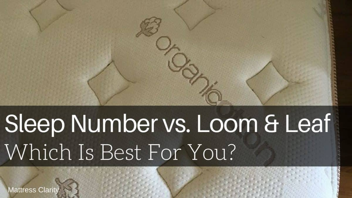 Helix Vs Loom And Leaf Sleep Number Vs Loom Leaf Which Is Best For You