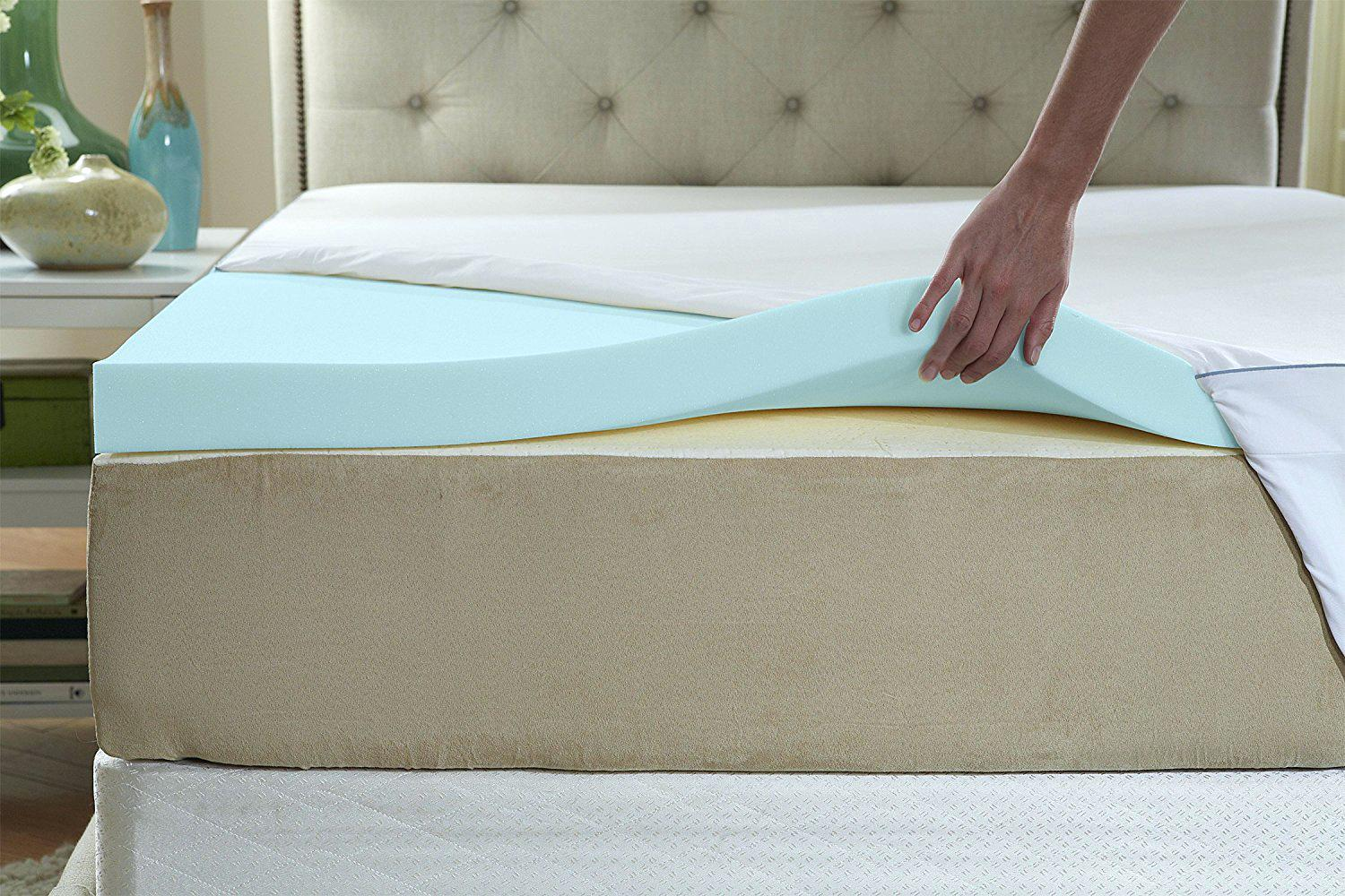 Memory Foam Mattress Toppers Best Memory Foam Mattress Toppers Reviews 2019 Pad Picks