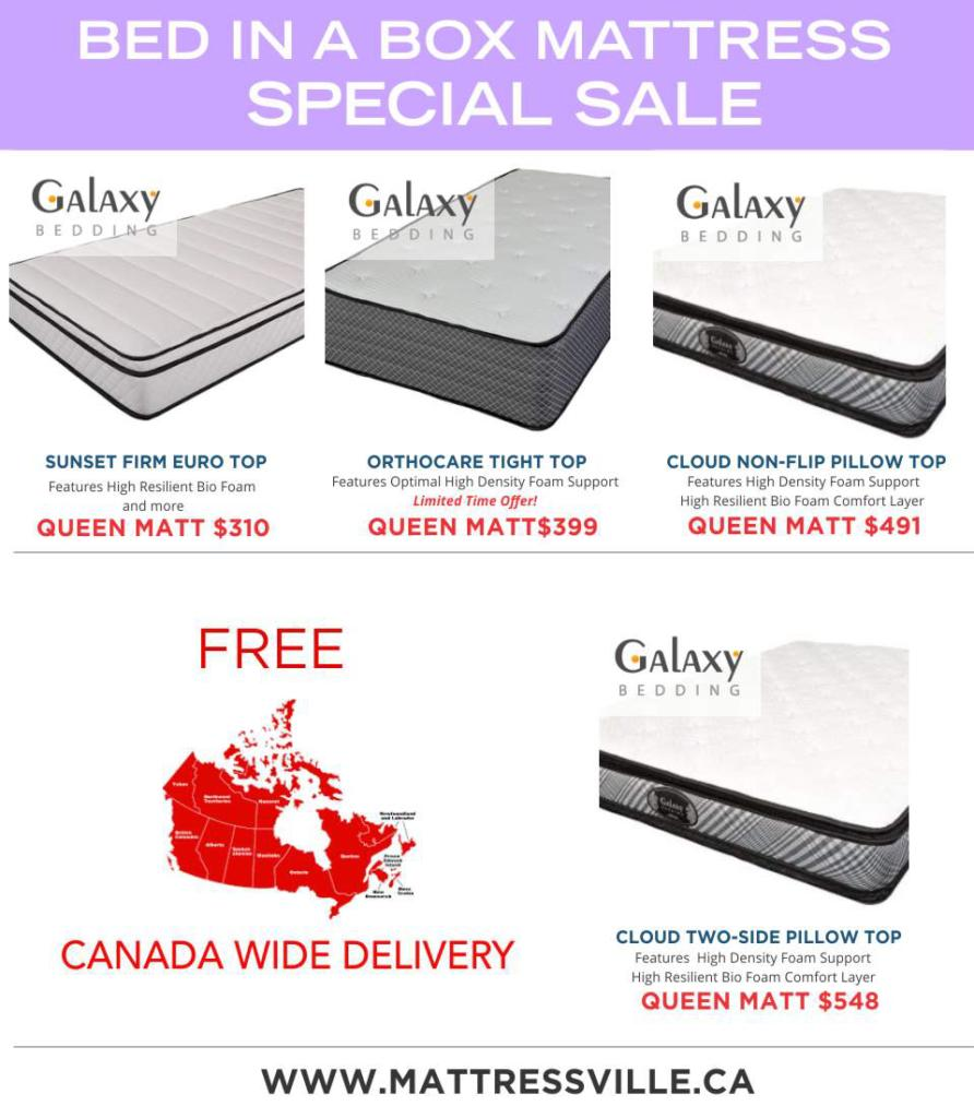Mattress In Canada Canada Wide Deals On Mattresses Shop Now At Mattressville Ca