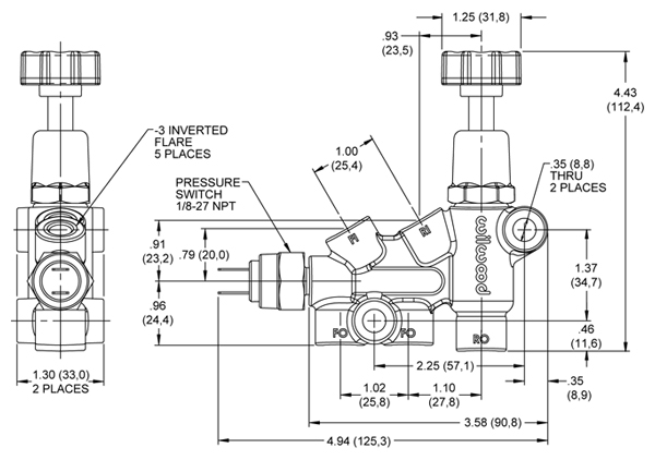 Chevy Ke Proportioning Valve Wiring Diagram Chevy Water Pump