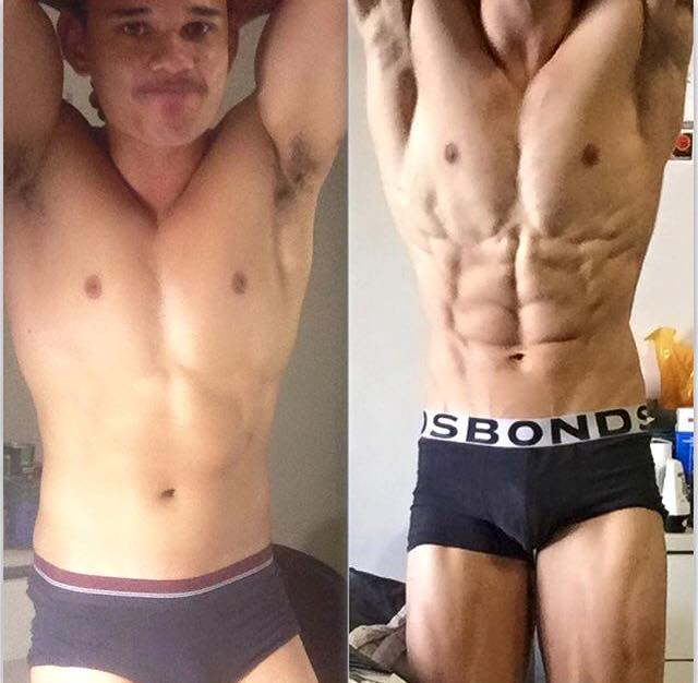 Online personal trainer helping young male get shredded for bodybuilding competition