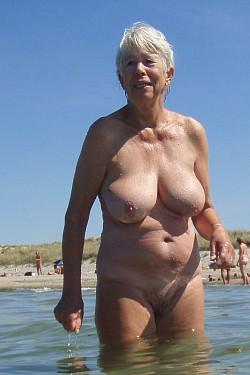 aunt grandma naked