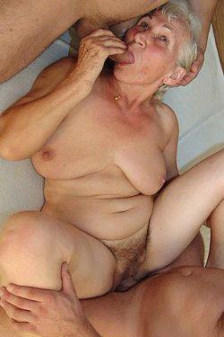mature granny big pussy lips