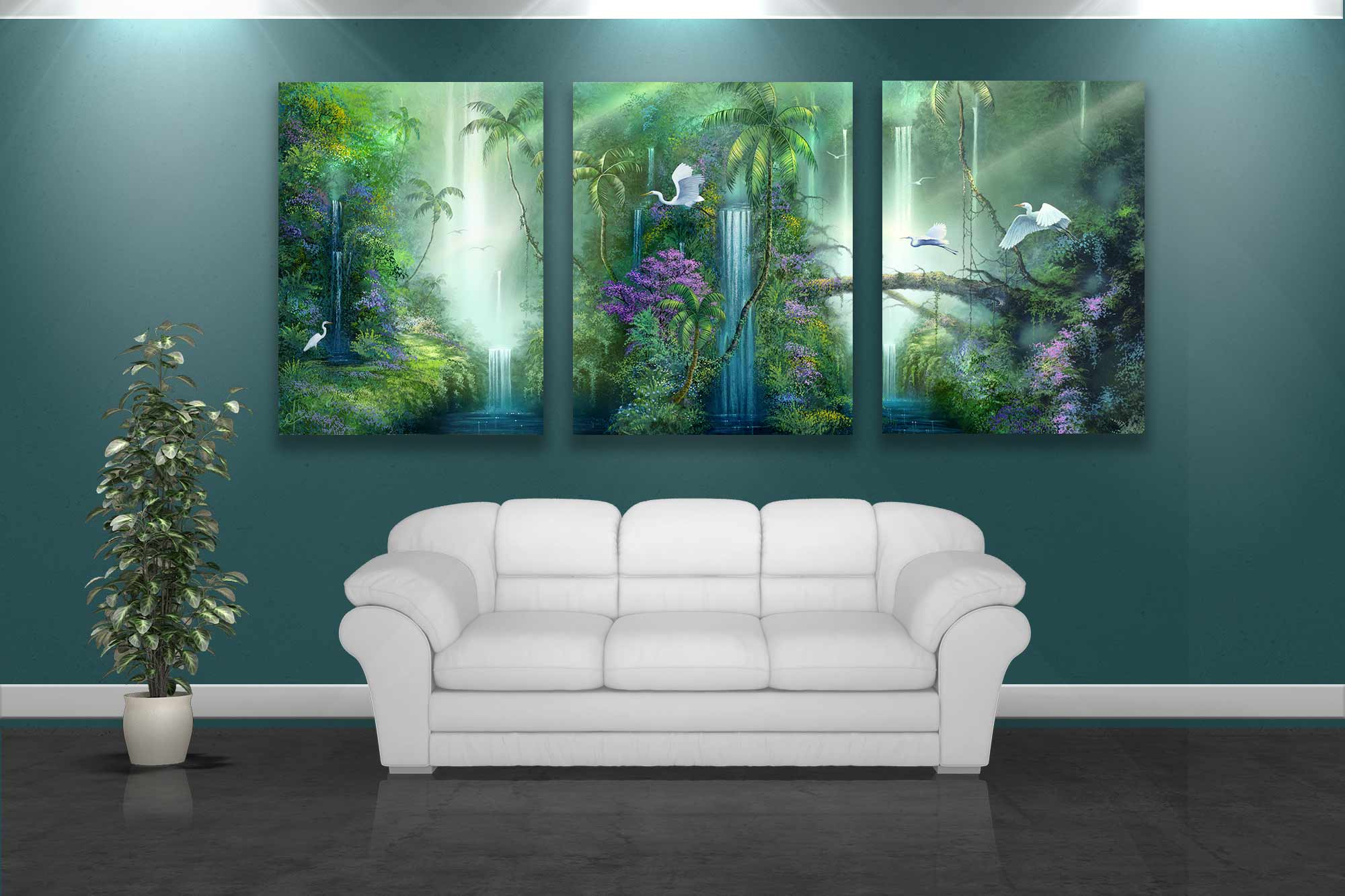 Tropical Artwork Artist David Miller Paintings And Artwork For Your Walls