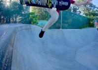 Maui grom skateboarding