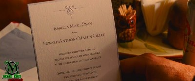 Sementara Keluarga Cullen Sedang Sibuk Mempersiapkan Tempat Pernikahan