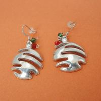 Maurice Milleur Christmas Ball Earrings Crystal - Maurice ...