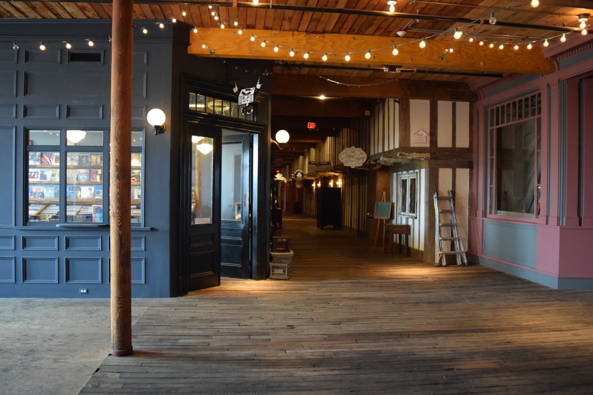 The Main Hall at Mill No. 5, Founding Director and Planner