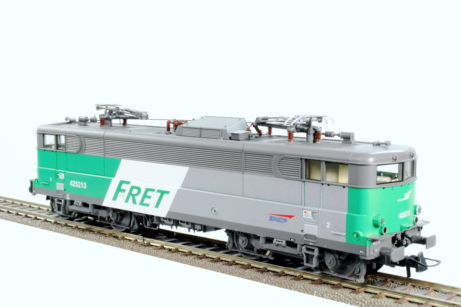 Eclairage Led Modelisme Locomotive électrique Bb425213 Fret Sncf Digital Sound
