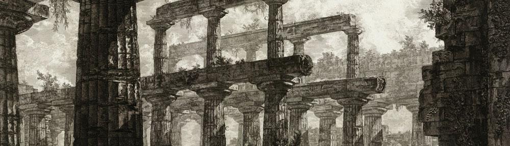 Paestum, dessin, Louvre