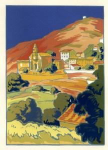 Cargese, par Renefer, 1927.