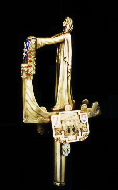 Poignée épée d'académicien de Maurras