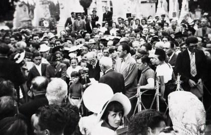 1940 - Charles Maurras à Maillane