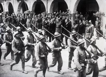 1938 - Au cours du voyage en Espagne du 3 au 10 mai