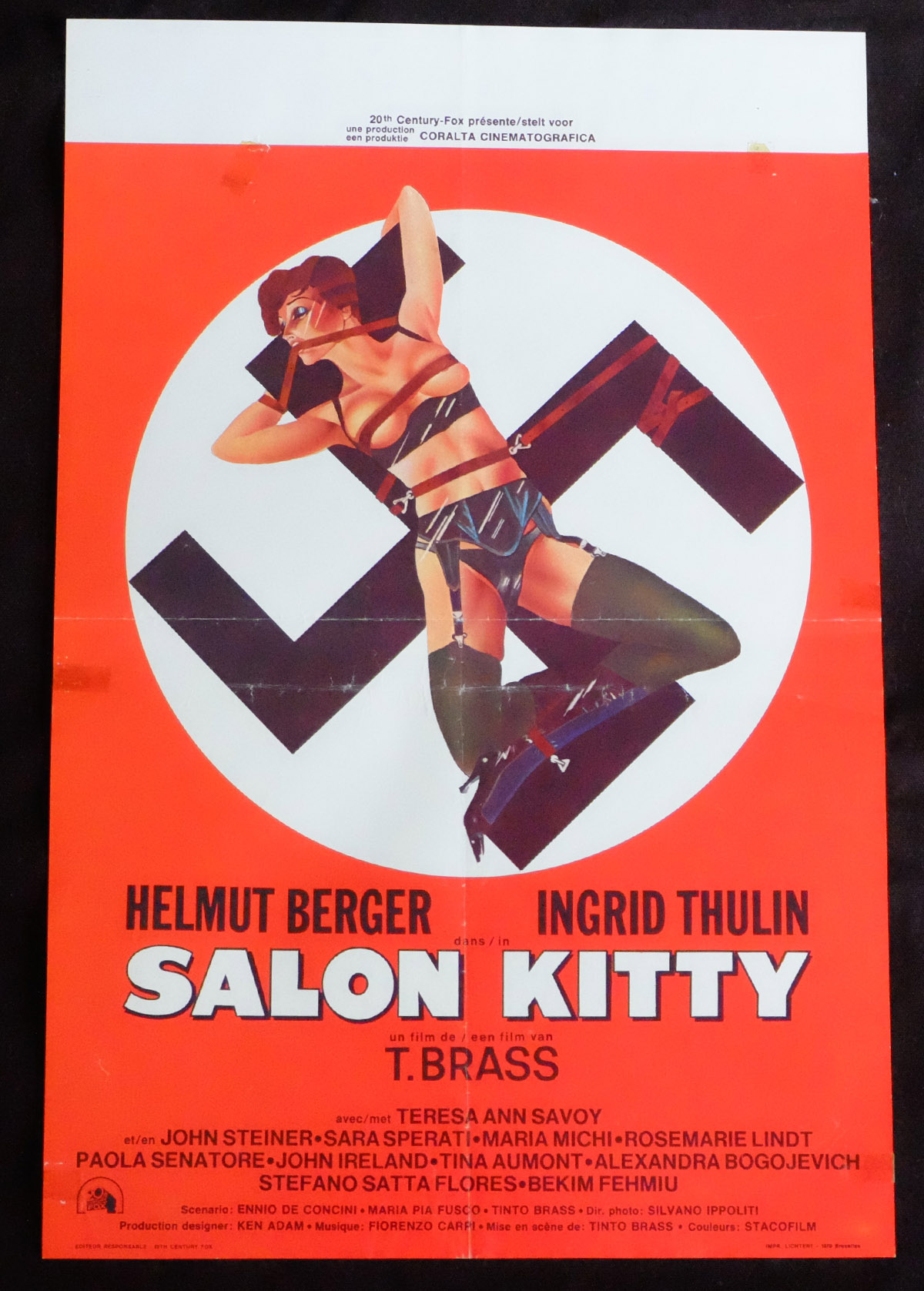 Salon Kitty Salon Kitty Nazi Exploitation Film Posters Wrong Side Of
