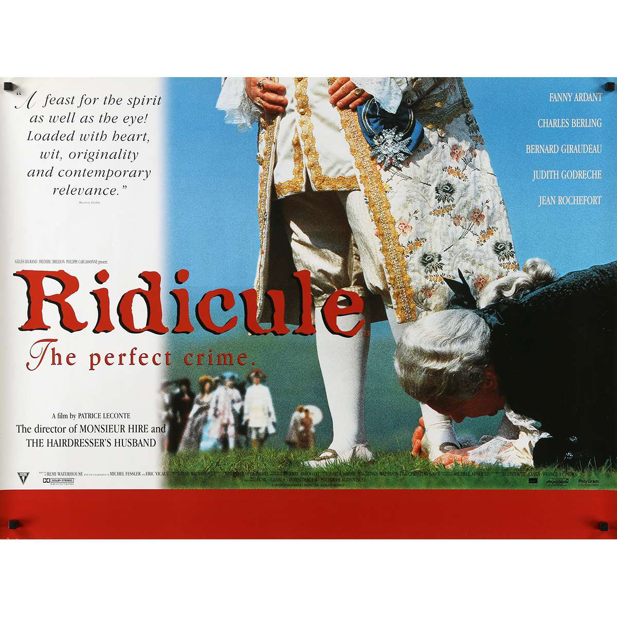 Poster 30x40 Ridicule Movie Poster 30x40 In.