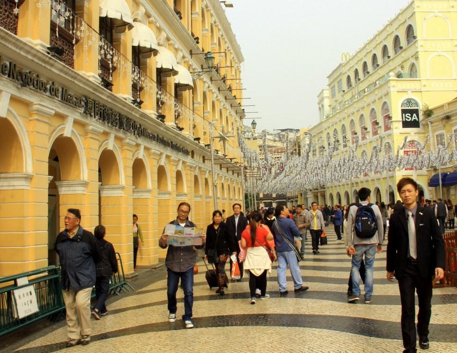 Macau was as good as it gets