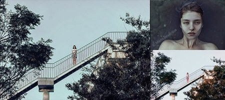 Photoshop-用曲線模仿照片色調(仿色)