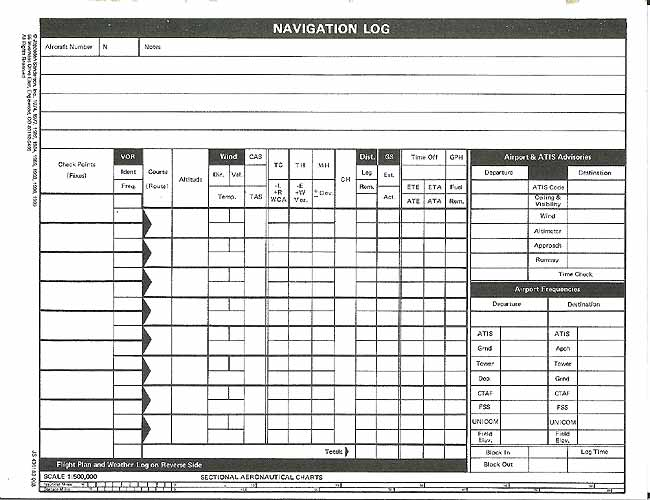 jeppesen flight plan form - Peopledavidjoel
