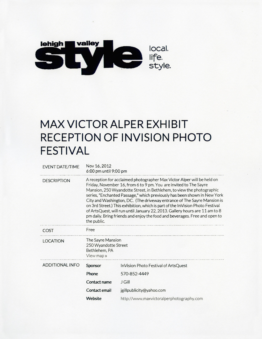 Arte Conceptual Yahoo Articles Reviews Max Victor Alper