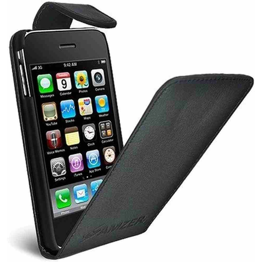 Iphone 3gs Flip Cover For Apple Iphone 3gs Black