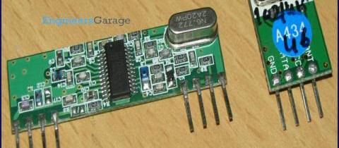 RF Module Interfacing without Microcontrollers