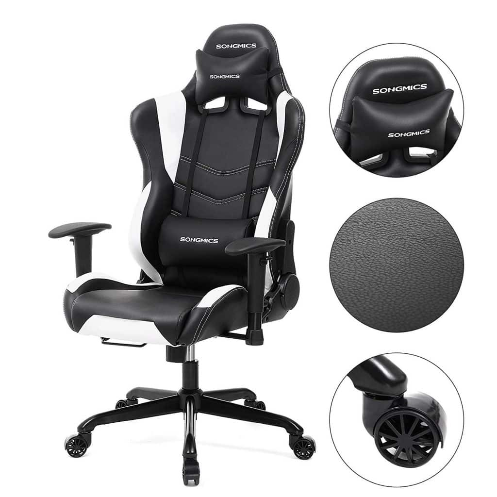 Comparatif Fauteuils Gaming Chaise Gaming Songmics Notre Test Avis Complet 2019