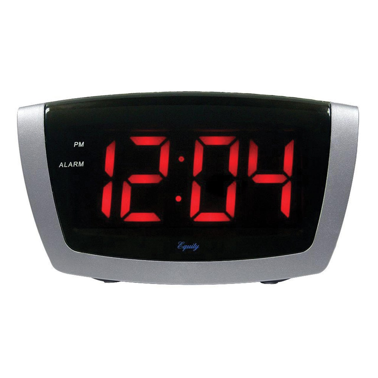 Small Led Alarm Clock Maxiaids Digital Alarm Clock With 1 8 Inch Jumbo Led