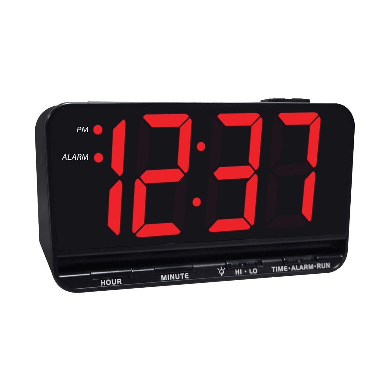 Digital Clock Jumbo Display Digital Alarm Clock With 3 Inch Led