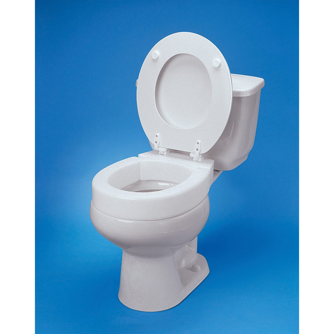 Toilet Seat Maxiaids | Hinged Elevated Toilet Seat - Standard